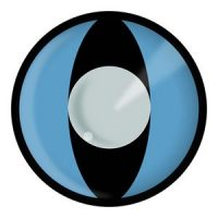 Blue Cat Eyes Halloween Contact Lenses