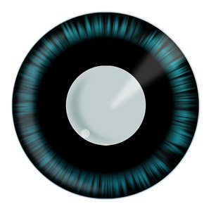 Blue Manga Halloween Cosplay Contact Lenses