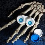 Blue Manson Halloween Contacts Product Photo Halloween Skeleton