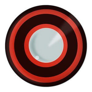 Bullseye Halloween Contact Lenses