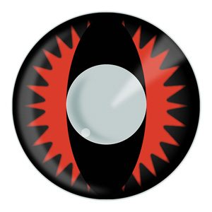 Fire Dragon Halloween Contact Lenses