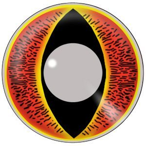 Sauron Lord of the Rings Halloween Contact Lenses