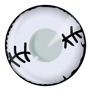 Stitched Mummy Halloween Contact Lenses