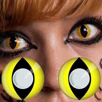 yellow eyes contacts - photo #7