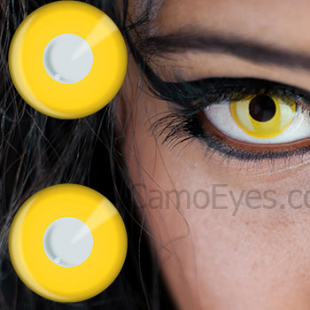 yellow eyes contacts - photo #10