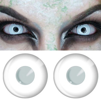Crazy Halloween Contacts crazy contacts White Contacts White Block