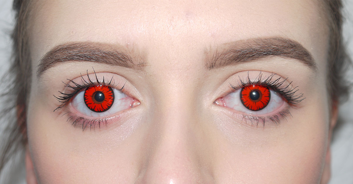 Halloween Contact Lenses (Costume Contacts) | CamoEyes