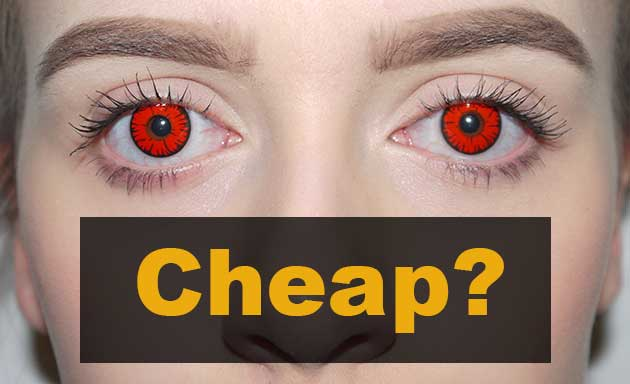 Halloween Colored Contacts Prescription
