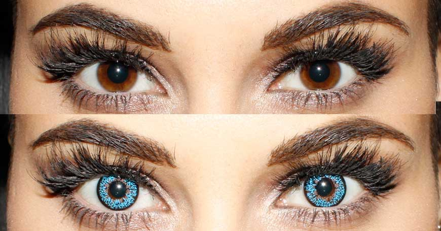 blue color contact lenses for your beautiful