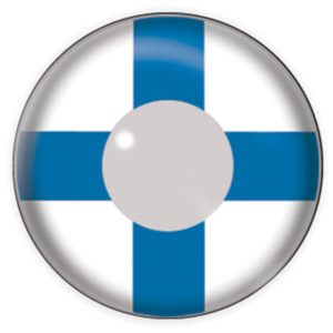 Finland Flag Contact Lenses Product Photo