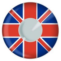 Union Jack Flag Contacts UK Product Photo