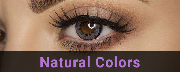 Buy Natural Colored Contact Lenses